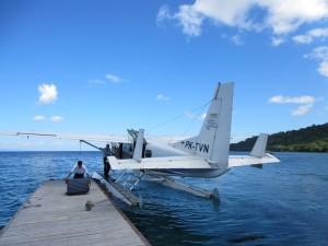 アマンワナ水上飛行機